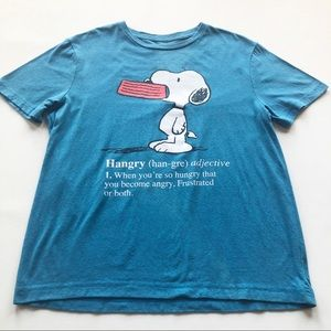 Peanuts Snoopy Hangry Graphic Tee